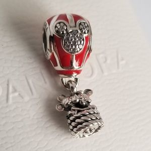 PANDORA Disney Hot Air Balloon of True Love Charm